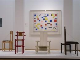 Haags Gemeentemuseum stoel Van 't Hoff