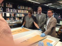 onderzoeksschool kunstgeschiedenis architectuurtekening
